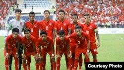 ၂၉ႀကိမ္ေျမာက္ SEA Games အေရွ႕ေတာင္အာရွ အားကစားၿပိဳင္ပြဲ U22 ျမန္မာ အမ်ိဳးသား ေဘာလံုးအသင္း (Myanmar Football Federation)