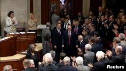 Le Républicain Steve Scalise au Congrès, à Washington DC, le 28 septembre 2017.