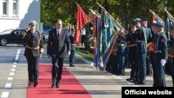 Predsednik Crne Gore Filip Vujanović na obeležavanju Dana Vojske Crne Gore (gov.me)