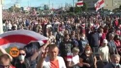 بیلاروس: صدر لوکاشینکو کے خلاف خواتین بھی سڑکوں پر