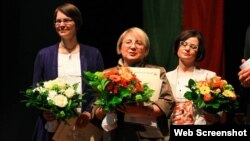 Leyla Yunus (Foto Leyla və Arif Yunusların Facebook səhifəsindən götürülüb)