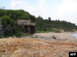 废弃的坑道