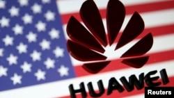 Huawei US flag logo 20190307