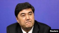 资料照:前新疆官员白克力