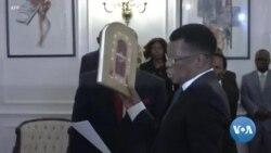 Le nouveau procureur général prête serment au Zimbabwe