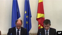 ЕУ изрази загриженост за тензиите на политичката сцена во Македонија