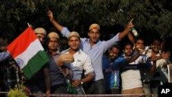 Indijski ljubitelji Kriketa na Činašvami stadionu u Bangaloru