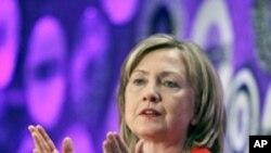 ہلری کلنٹن کا روس سےجارجیا پرقبضہ ختم کرنے کا مطالبہ