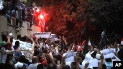 Протесты около посольства США в Египте