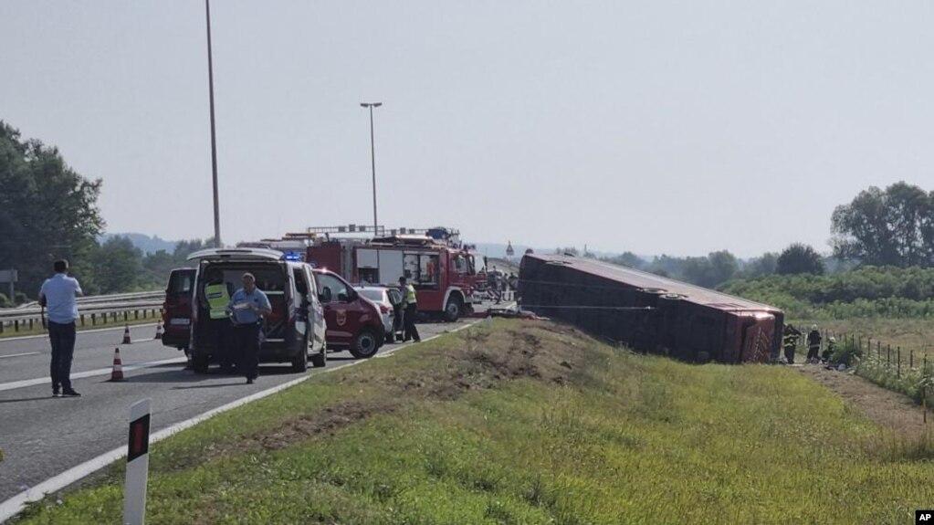 Aksident i autobusit nga Kosova në Kroaci – dhjetë të vdekur dhe dhjetëra të plagosur