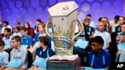 Cúp vô địch cuộc thi đánh vần toàn quốc Scripps tổ chức vào năm 2019 tại Oxon Hill, Maryland.