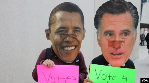 These Obama supporters decided to have some fun with the election day get out the vote effort.
