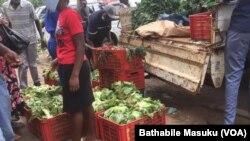 Izambuzi ezilungiselwe abesifazana abaphila ngokuthengisa koBulawayo