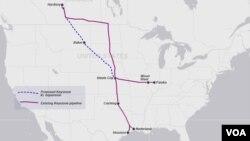 Đường ống dài 1.900 kilomét này, cùng với các đường ống khác, sẽ đưa tới tiểu bang Texas hơn 800.000 thùng dầu mỗi ngày từ dầu cát sản xuất ở Canada