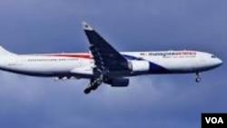 Salah satu pesawat jet penumpang milik maskapai Malaysia Airlines (foto: dok).