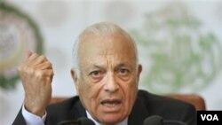 Sekretaris Jenderal Liga Arab, Nabil el-Araby, mengupayakan dialog untuk mengatasi krisis di Suriah.