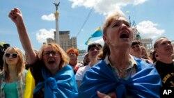 Киев, Украина, 29 июня 2014.