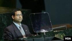 Utusan khusus PBB untuk HAM di Iran, Ahmed Shaheed (Foto: dok)