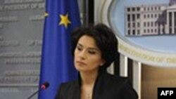 Пресс-спикер президента Грузии Манана Манджгаладзе
