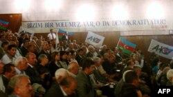 Azərbaycan Xalq Cəbhəsi Partiyasının qurultayı xalqı seçkilərdə fəal olmağa çağırıb