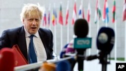 Boris Johnson wezîrê derve yê Brîtanya
