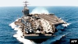Khoảng 60 chiến hạm, kể cả hàng không mẫu hạm chạy bằng năng lượng hạt nhân George Washington của Mỹ (hình trên), 400 phi cơ và khoảng 44.000 binh sĩ sẽ tham gia cuộc tập trận kéo dài 8 ngày