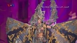 Indonesia Raih Kostum Nasional Terbaik di Miss Universe 2015
