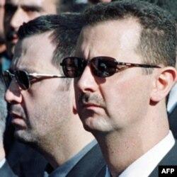 Bashar al-Assad ukasi Mohir al-Assad bilan