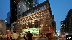 Zdanje Karnegi hola u Njujorku