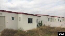 As casas abandonadas do Luhongo