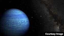 Astronomers Find Water Clouds Surrounding Object 7.3 Light Years Away