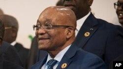 Jacob Zuma, président de l'afrique du Sud (AP)