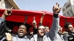 約旦反政府示威引致衝突。