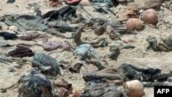Ngôi mộ tập thể chứa 300 xác người ở Iraq, 20/7/2011