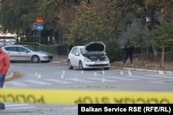 Mjesto zločina u naselju Alipašino polje, Sarajevo, 26. oktobar 2018.