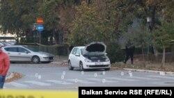 Mjesto pucnjave u naselju Alipašino polje. Foto: RSE/RL