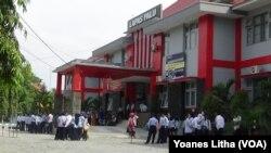 Lembaga Pemasyarakatan (Lapas) Kelas IIA, Palu, Sulawesi Tengah. (Foto: VOA/Yoanes Litha)