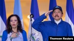 Opositores al gobierno de Daniel Ortega mostraron su rechazo a la nueva propuesta de ley, señalando que atenta contra la Constitución del país. [Archivo]