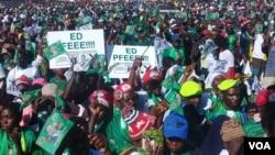Zanu PF rally in Matabeleland region.