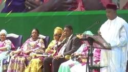 """Le président du Niger s'exprime sur """"l'attaque terroriste"""" (video)"""