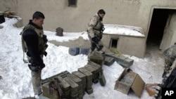 Les Forces spéciales américaines à l'oeuvre en Afghanistan (Archives)