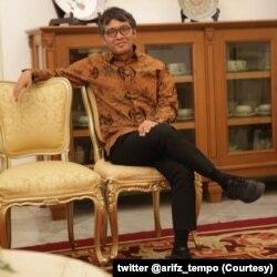 Ketua Komisi Pengaduan dan Penegakan Etika Pers Dewan Pers Arif Zulkifli. (Foto: twitter @arifz_tempo)