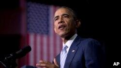 Tổng thống Obama nói rằng giờ là 'nhiệm vụ của chúng ta' để giúp mọi người dân Mỹ cảm nhận được 'một phần của sự trỗi dậy của đất nước.'
