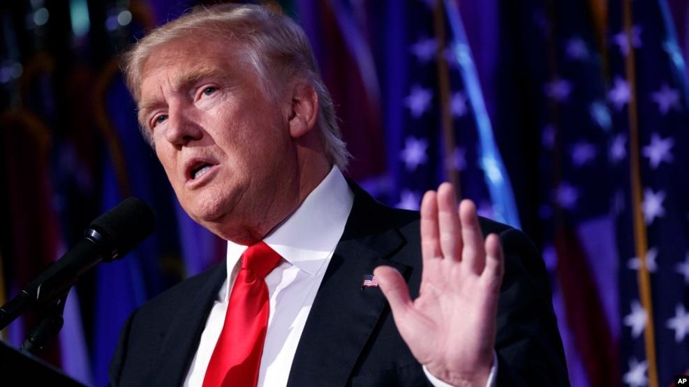 Ông Donald Trump trong suốt chiến dịch vận động tranh cử đã mạnh mẽ chỉ trích Trung Quốc và cam kết sẽ đánh 45% thuế lên hàng nhập khẩu từ Trung Quốc.