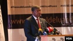 Presidente angolano João Lourenço (Foto de Arquivo)