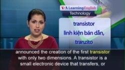 Anh ngữ đặc biệt: 2D Transistor (VOA-Tech)