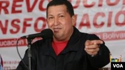 El presidente de Venezuela, Hugo Chávez, dijo que su gobierno no recibirá al embajador Palmer.