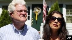 """被""""伊斯蘭國""""恐怖分子殺害的美國記者詹姆斯•弗利的父母一度為營救兒子而籌集贖金。"""