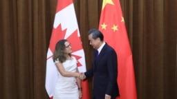 Quan hệ giữa Canada và Trung Quốc đang gặp sóng gió xung quanh vụ bắt giữ bà Mạnh