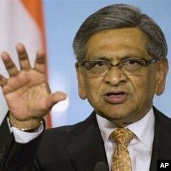 بھارتی وزیر خارجہ ایس ایم کرشنا